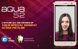 Intex launched Aqua S2 3G handset with Finger Print Sensor for Rs.4,990