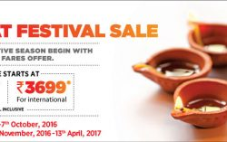 SpiceJet's Great Festival Sale