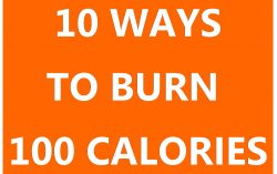 Ways to burn 100 calories