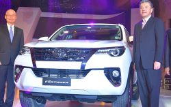 Toyota Kirloskar Motor Launches the All New Fortuner in India