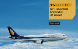 American Express Offer: 15% off on Jet Airways