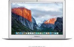 Apple MacBook Air 13 (MMGG2HN/A) (Core i5 (5th Gen)/8 GB/256 GB/33.782 cm (13.3″)/Mac OS X El Capitan) for Rs.70,199