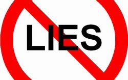 Are School students are taught that lying is a sin?