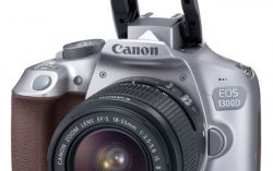 Canon EOS 1300D with 18 – 55 mm Lens Metallic Gray Worth Rs 29995 For Rs 21565