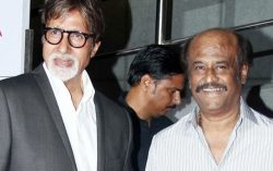 Rajnikanth and Amitabh Bachan