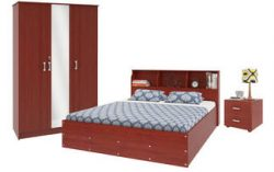Housefull Calino Bedroom Set Combo Worth Rs 70500 For Rs 19999