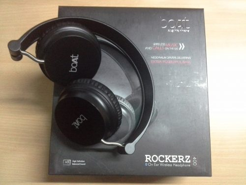 6503f35a9cd boAt Rockerz 600 Bluetooth Headphone is a wireless headphone. In side the  box you have Headphone