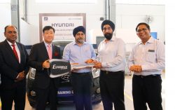Hyundai Motor India Ties-up with Dr. Sudhir Chandra Sur Degree Engineering