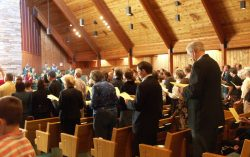 """The whole Congregation SCREAMED  """"HALLELUJAH""""!!"""