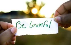 Be Grateful …. For Everything