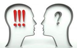 Height of misunderstanding between two Women