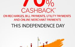 Independence Day Offer at PVR : Up to 70% Cashback on this Independence Day using Airtel Payments Bank