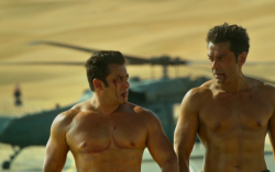 Salman Khan and Bobby Deol's bare chested scene in the trailer of Race 3 was a spontaneous move!