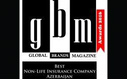 Azerbaijan Industry Insurance Company is Named Azerbaijan's Top Non-Life Insurance Company