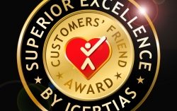 ICERTIAS Announces International Customers' Friend Award – Redesigned