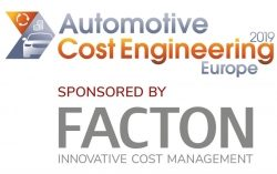 "The European Edition of the ""Automotive Cost Engineering"" Conference is Gearing Up for Its Second Event"