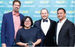 Digital Pi Introduces PiPerformer Award At Client Appreciation Dinner High In The Sky Over Las Vegas
