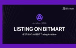 Aphelion (APH) Token Listing On World Leading Exchange BitMart Exchange