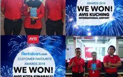 Avis Malaysia Wins the Prestigious Rentalcars.com Award for Outstanding Customer Experience