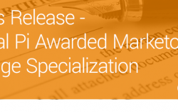 Digital Pi Awarded Marketo Engage Specialization