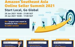 Amazon to host first Southeast Asia Seller Summit for small and medium-sized businesses to Start Local, Go Global